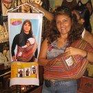 Original peruvian modern Baby-Sling, very stabil fabric