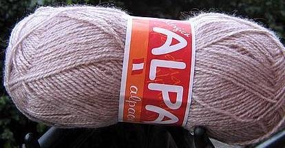 500 gramm pink alpaca wool,knitting wool, yarn