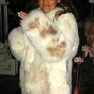 Midi fur jacket, Babyalpaca pelt,outerwear