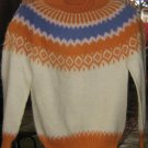 colorful sweater for kids from 8-10 Years, alpacawool