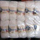 1.1 pound pure white Babyalpaca wool,knitting wool