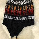 Peruvian Chullo, hat made of alpacawool