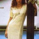 White long dress, ecological pima cotton