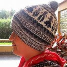 Woolly Hat, hat of alpacawool knitted