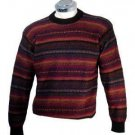 Sweater for men, knitted of Alpacawool, crew neck