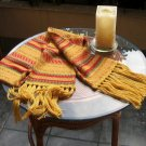 Alpacawool scarf, shawl in a folclorical peruvian design