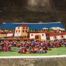 Peruvian wall rug, Fiesta in the Andes