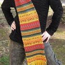 Scarf, shawl made of alpacawool, 51.1 x 8.2 Inches
