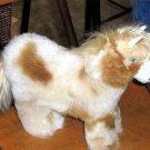 Fur horse figure, handmade with original Alpaca fur