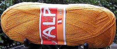 1.1 pound first quality yellow Alpacawool for knitting
