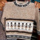 Sweater with ethnic peruvian designs,Alpacawool