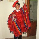 Folkloric ethnic dance costume for Boys from Peru, Valicha