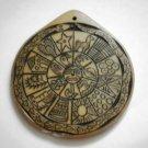 Peruvian Shaman stone Amulett Calendarium, Chumbi