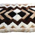 Alpakaandmore Original Peruvian Alpaca Fur Rug Tornillo 200 x 180 cm