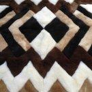 Alpakaandmore Original Peruvian Alpaca Fur Rug Tornillo 150 x 110 cm