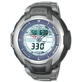 Casio PRO TREK PRG 60T 7V TITANIUM EDITION WATCH