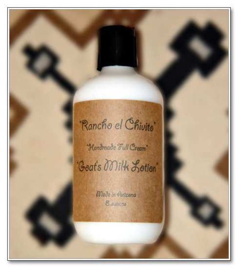 Rancho el Chivito Full Cream Goat's Milk Lotion