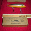 Vintage Fishing  Hanson Fish Lure Co. Edmonds WA True Action Plug with Box