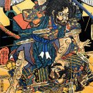 &quot;Samurai Revolt&quot; BIG Japanese Art Print by Kuniyoshi