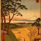 &quot;Old Man&#39;s Teahouse&quot; Japanese Art Print by Hiroshige