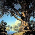 """Old Maple"" BIG Maxfield Parrish Art Deco Print"