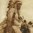 """The Old Cheyenne"" Edward S. Curtis Native American Ar"