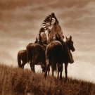 """Cheyenne Warriors"" Edward Curtis Native American Art"