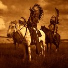 """Sioux Chiefs"" Edward Curtis Native American Art Photo"