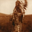 """High Hawk"" BIG Edward S.Curtis Native American Art"