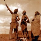 """The Oath""BIG Edward S.Curtis Native American Art Photo"