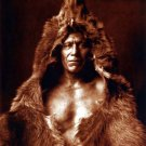 """Bears Belly"" BIG Edward S. Curtis Native American Art"