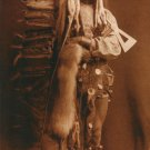 """Iron Breast BIG"" Edward S. Curtis Native American Art"