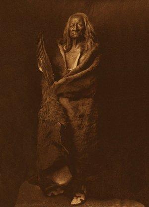 "Edward S. Curtis ""Black Eagle"" BIG Native American Art"