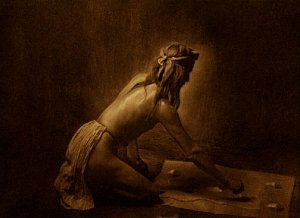 """The Medicine Man"" Edward S.Curtis Native American Art"