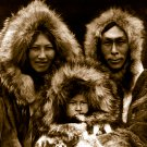"Edward Curtis ""Family-group-Noatak"" Native American"