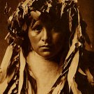 """Apache Maiden BIG"" Edward S.Curtis Native American Art"