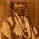 """Wishham Bride"" Edward S.Curtis Native American Art"