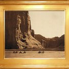 """Cañon de Chelly"" Edward S. Curtis Art Photograph"