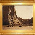 """Cañon de Chelly"" Edward S. Curtis Art Photograph"