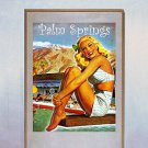"""Palm Springs Resort Life"" California Art Print"