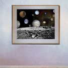 """Solar System Montage"" Art Print from NASA's Voyager"