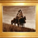 """Cheyenne Warriors"" Edward S. Curtis Art Photograph"