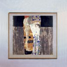 """Three Ages Of Woman"" Art Print Gustav Klimt Art Deco"