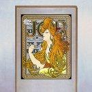 """Job"" Art Nouveau / Deco Print by Alphonse Mucha"