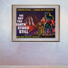 """The Day Earth Stood Still"" BIG Old Sci-Fi Movie poster"