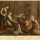 """Merchant of love""  Big French Art Print"