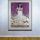 """Portrait of a Girl""HUGE Art Deco Print by Gustav Klimt"