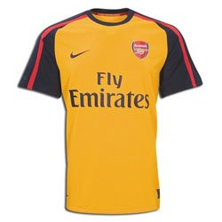 Nike Arsenal Away Jersey 08/09