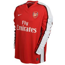 Nike Arsenal Home Long Sleeve Jersey 08/09