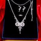 Necklace with matching earings X 042